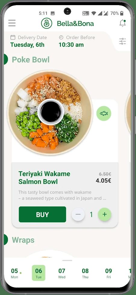 Food Tech App